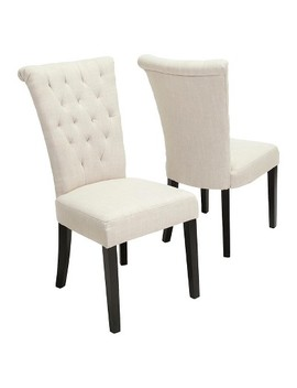 Venetian Dining Chair Set 2ct   Christopher Knight Home by Christopher Knight Home