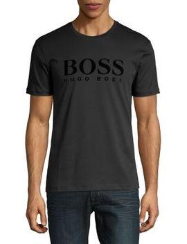 Tessler Logo T Shirt by Boss