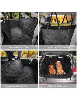 Geloo Bench Car Seat Cover Protector Waterproof, Heavy Duty And Nonslip Pet Car Seat Cover For Dogs With Universal Size Fits For Cars, Trucks & Su Vs by Geloo