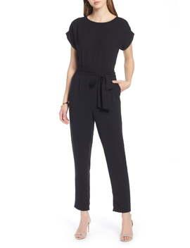 Short Sleeve Jumpsuit by Halogen®