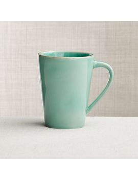 Marin Aqua Mug by Crate&Barrel