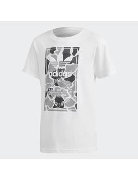Camo Trefoil Tee by Adidas