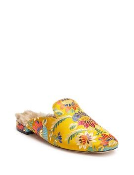 Jean Faux Fur Mule Loafer by Joie