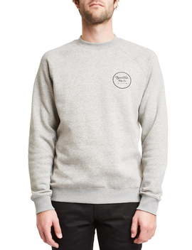 Wheeler Crewneck Sweatshirt by Brixton