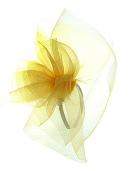 Nyfashion101 Elegant Formal Curlicue Center Sinamay Fascinator Headband by Nyfashion101