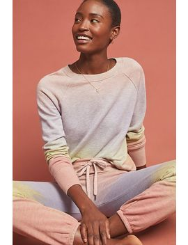 Sundry Dip Dyed Sweatshirt by Sundry