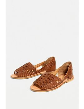 Uo Woven Huarache Open Toe Sandals by Urban Outfitters