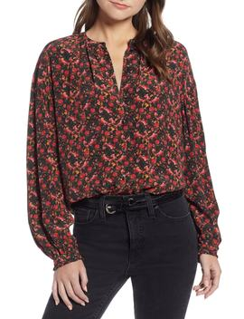 Easy Volume Top (Nordstrom Exclusive) by Something Navy