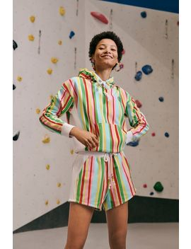 Champion X Susan Alexandra Uo Exclusive Reverse Weave Striped Short by Champion