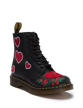 1460 Pascal Hearts Boot by Dr. Martens