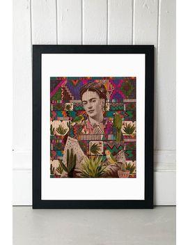 Kris Tate Frida Wall Art by Kris Tate