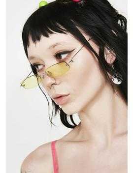 Bodak You Da Boss Tiny Sunglasses by