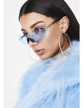 Sea Above The Clouds Clear Sunglasses by