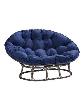 Better Homes & Gardens Papasan Bench With Cushion, Multiple Colors by Better Homes & Gardens