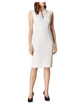 Gathered Waist Sheath Dress by Karen Millen