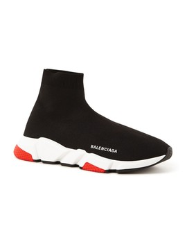Speed Trainer Sneaker Met Logo  by Balenciaga