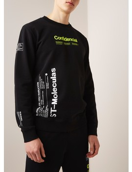 Sweater Met Tekstopdruk by Marcelo Burlon