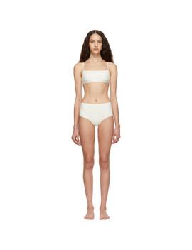 Off White Unici Bikini by Lido