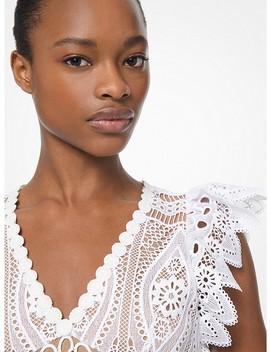 Medallion Lace Dress by Michael Michael Kors