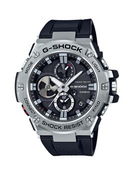G Steel Chronograph Watch, 53.8mm by G Shock Baby G