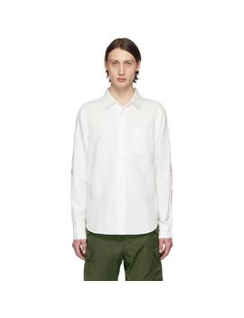 White Jumbo Albacore Shirt by Visvim