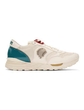 Off White Roland Jogger Sneakers by Visvim