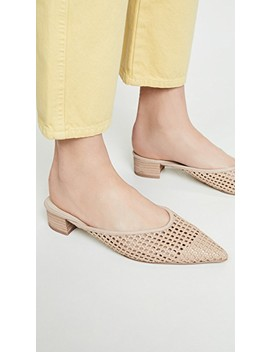 Leviana Woven Mules by Cupcakes And Cashmere