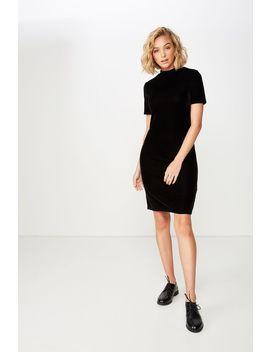 Anissa Short Sleeve Bodycon Midi Dress by Cotton On