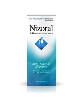Nizoral A D Anti Dandruff Shampoo 7 Fl. Oz Itchy Scalp Dandruff Treatment W/ Ketoconazole 1 Percents by Nizoral