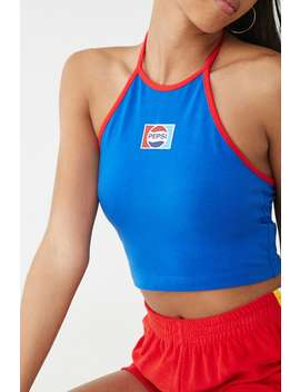 Pepsi Halter Top by Forever 21