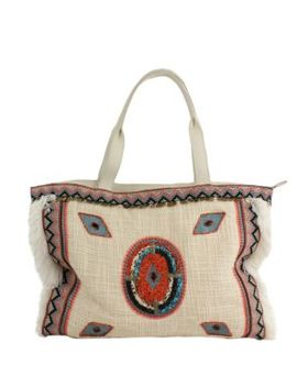 Titian Woven Tote by Sam Edelman