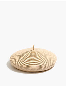 Madewell X Brixton® Audrey Straw Beret by Madewell
