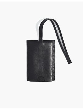The Leather Luggage Tag by Madewell