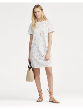 Eyelet T Shirt Dress by Ralph Lauren