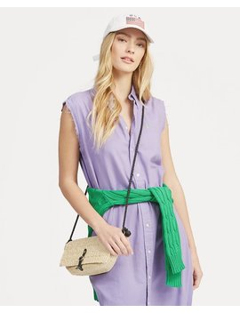 Sleeveless Oxford Shirtdress by Ralph Lauren