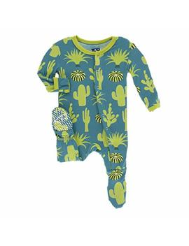 Kic Kee Pants Baby Print Footies by Kickee Pants