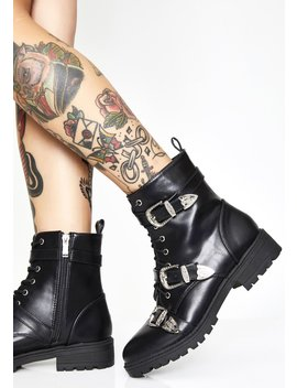 Shut 'em Down Buckle Boots by