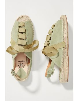 Elysess Tie Espadrille Sandals by Elysess