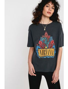 "T Shirt ""Nirvana Seahorse"" by Urban Outfitters"