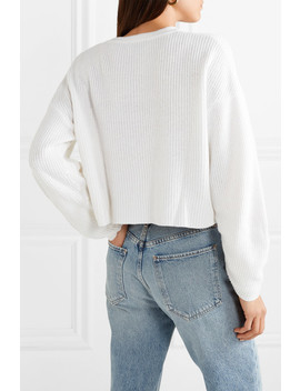 Element Ribbed Cotton Blend Sweater by The Range