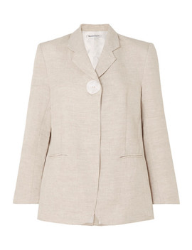 Boy Linen Blazer by Georgia Alice