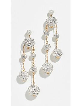 Razzle Dazzle Asymmetrical Earrings by Kate Spade New York