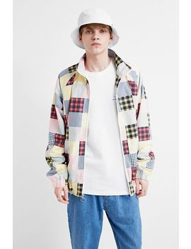 Uo Patched Madras Track Jacket by Urban Outfitters