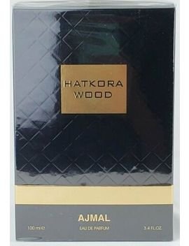 Ajmal Hatkora Wood 100ml/3.4oz New, Sealed, Authentic & Fast From Finescents! by Ajmal