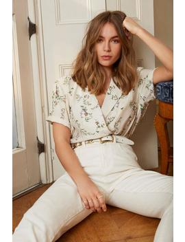 The Way It Grows Floral Button Down Blouse by Nasty Gal