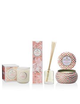 Saijo Persimmon Candles & Diffusers by Voluspa