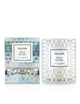 Milk Rose Cloche Candle by Voluspa