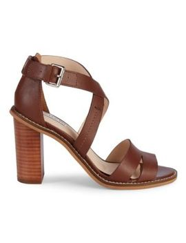 crisscross-leather-heeled-sandals by tahari