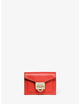 Manhattan Small Leather Wallet by Michael Michael Kors