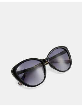 Printed Cat Eye Sunglasses by Ted Baker